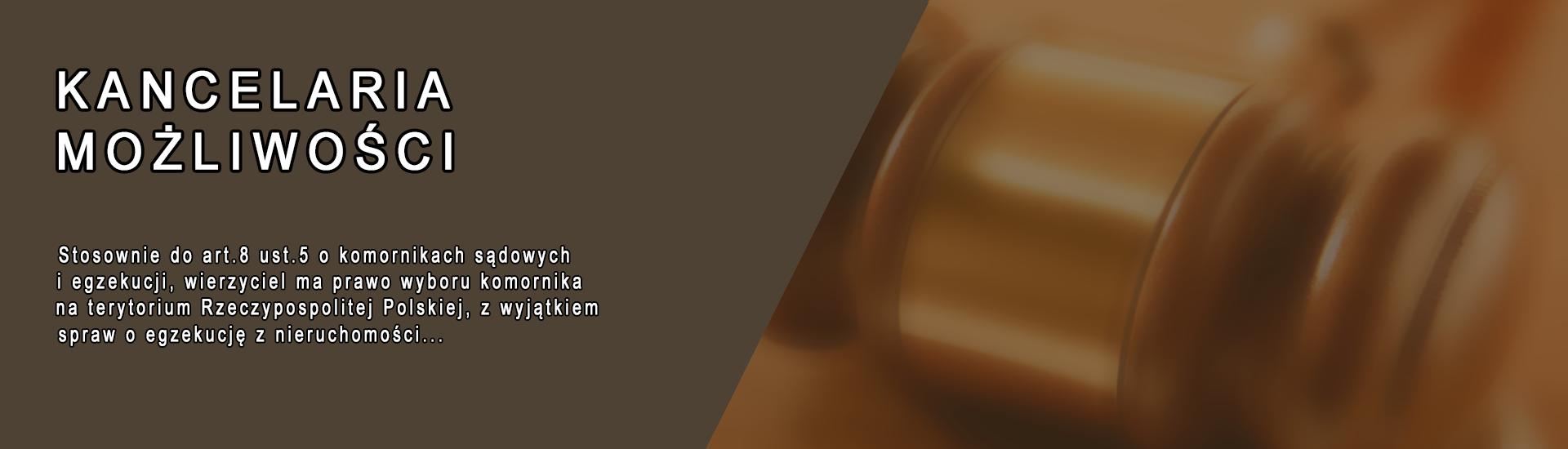 Komornik Sądowy przy Sądzie Rejonowym Wejherowo - w Wejherowie